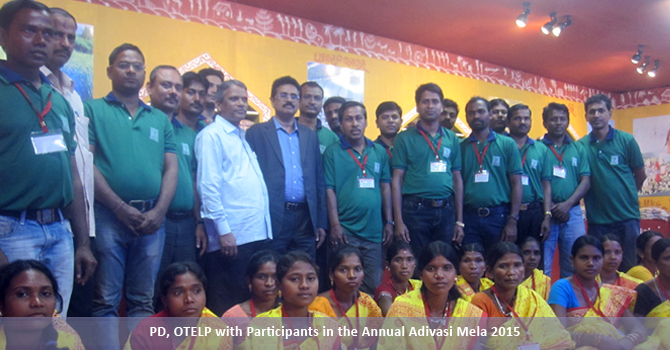 PD, OTELP with Participants in the Annual Adivasi Mela 2015